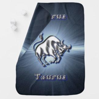 Chrome Taurus Baby Blanket