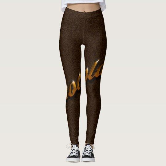 Chromed Chocolate Leggings