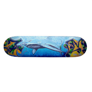 Chromie Da Shark Skate Board Deck