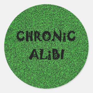 Chronic Alibi sticker