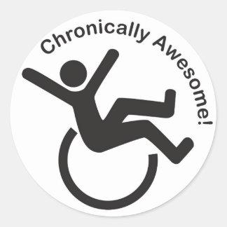 Chronic Illness Awareness Products Classic Round Sticker