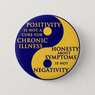 Chronic Illness Round Badge 2 Inch Round Button