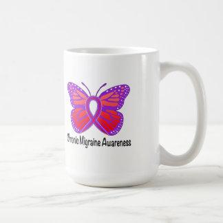 Chronic Migraine Awareness Butterfly Coffee Mug