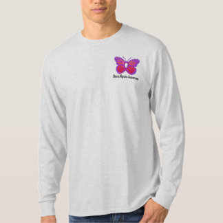 Chronic Migraine Awareness Butterfly T-Shirt
