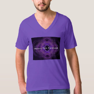Chronic Pain  Awareness Fractal T-Shirt