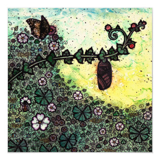 Chrysalis Blank Fine Art Greetings Card