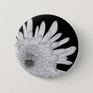Chrysanthemum 2 Inch Round Button