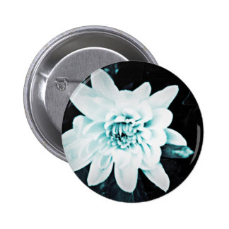 Chrysanthemum 2 Inch Round Button