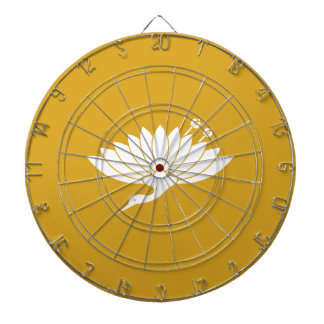 Chrysanthemum crane dart boards