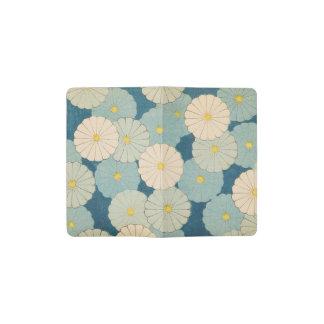Chrysanthemum Flowers Pocket Moleskine Notebook