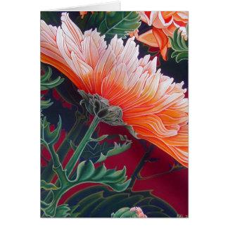 Chrysanthemum - Greeting Card