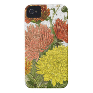 Chrysanthemum iPhone 4 Case