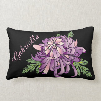 Chrysanthemum Lumbar Pillow