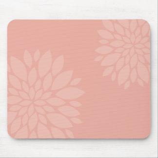 Chrysanthemum pattern mouse pad
