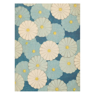 Chrysanthemum Pattern Tablecloth