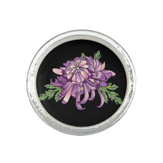 Chrysanthemum Photo Rings
