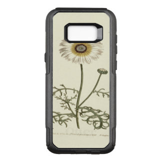 Chrysanthemum Tricolor Yellow Illustration OtterBox Commuter Samsung Galaxy S8+ Case