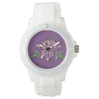 Chrysanthemum Wrist Watch