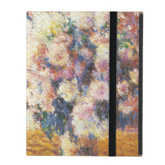 Chrysanthemums by Monet iPad Cover