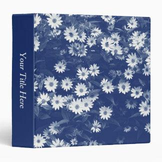 Chrysanthemums - Cyanotype Effect Binder
