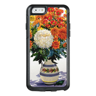 Chrysanthemums in a patterned jug 2005 OtterBox iPhone 6/6s case