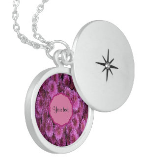 Chrysanthemums Locket Necklace