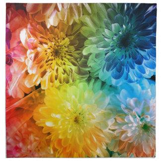 chrysanthemums napkin