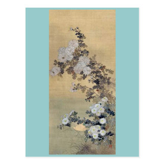 Chrysanthemums Ukiyoe Postcard