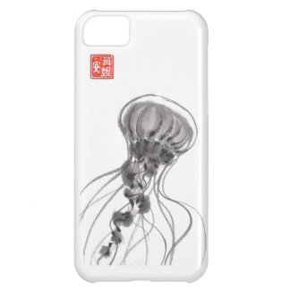 Chrysaora Jellyfish Ink Painting iPhone 5C Case