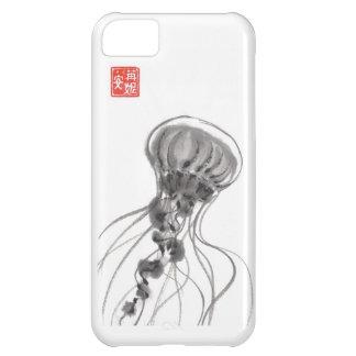 Chrysaora Jellyfish Ink Painting iPhone 5C Cases