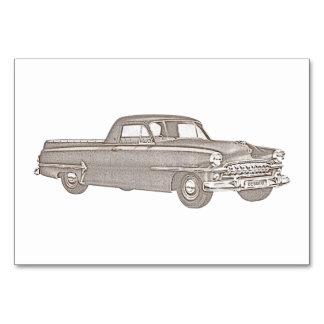 Chrysler 1937  DeSoto Coupe Utility Card