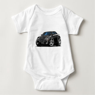 Chrysler 300 Black Car Baby Bodysuit