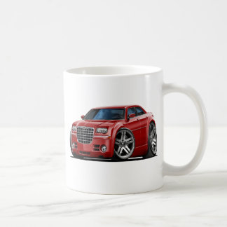 Chrysler 300 Maroon Car Coffee Mug