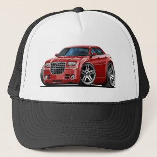 Chrysler 300 Maroon Car Trucker Hat