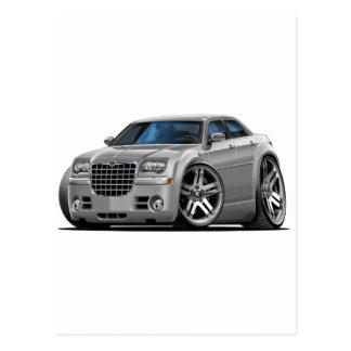 Chrysler 300 Silver Car Postcard