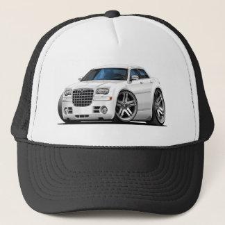 Chrysler 300 White Car Trucker Hat