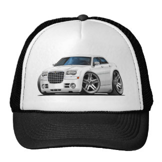 Chrysler 300 White Car Trucker Hat