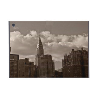 Chrysler Building and New York Skyline Cover For iPad Mini