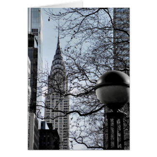 Chrysler Building Card