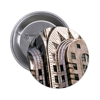 Chrysler Building Close Up View Buttons