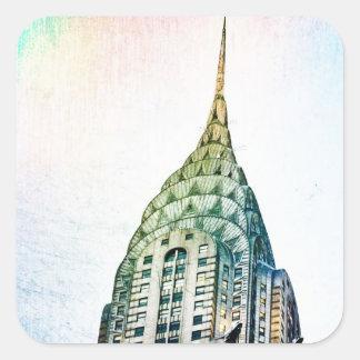Chrysler Building - Frozen - New York City Sticker