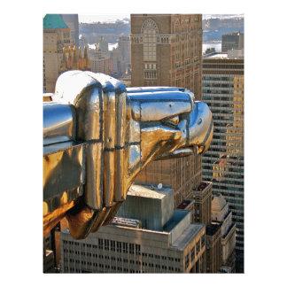 Chrysler Building: Gargoyle Personalized Letterhead