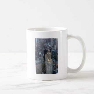 Chrysler Building New York City Aerial Skyline NYC Coffee Mug