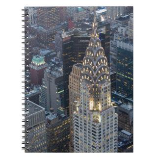 Chrysler Building New York City Aerial Skyline NYC Notebooks