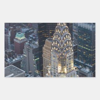 Chrysler Building New York City Aerial Skyline NYC Sticker
