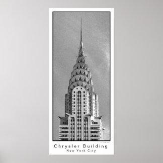 Chrysler Building / New York City Poster