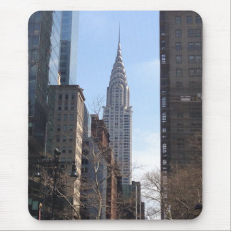 Chrysler Building New York City Skyscraper Midtown Mouse Pad