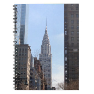 Chrysler Building New York City Skyscraper Midtown Notebook