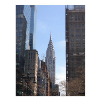 Chrysler Building New York City Skyscraper Midtown Postcard