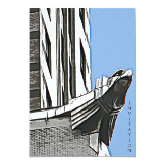 "Chrysler Building, NYC 5"" X 7"" Invitation Card"